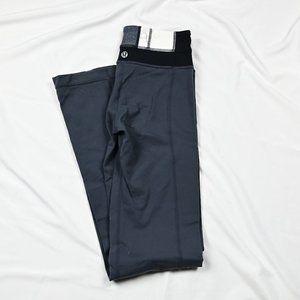 Lululemon Gray Wide legs Leggings Inside Pocket